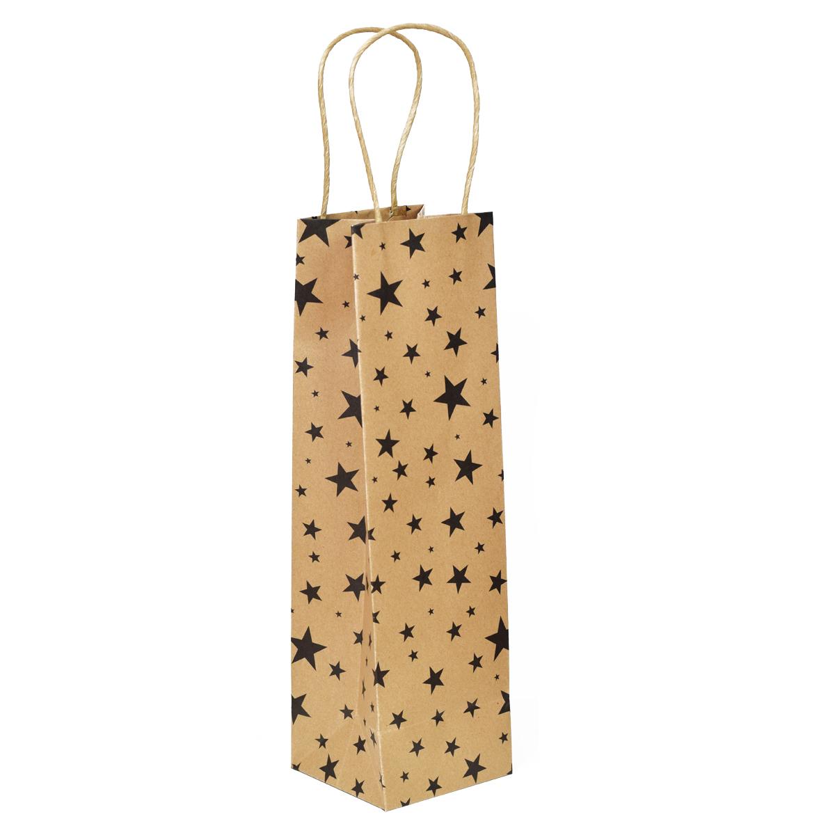 Dárková taška s hvězdami zlatá Barva