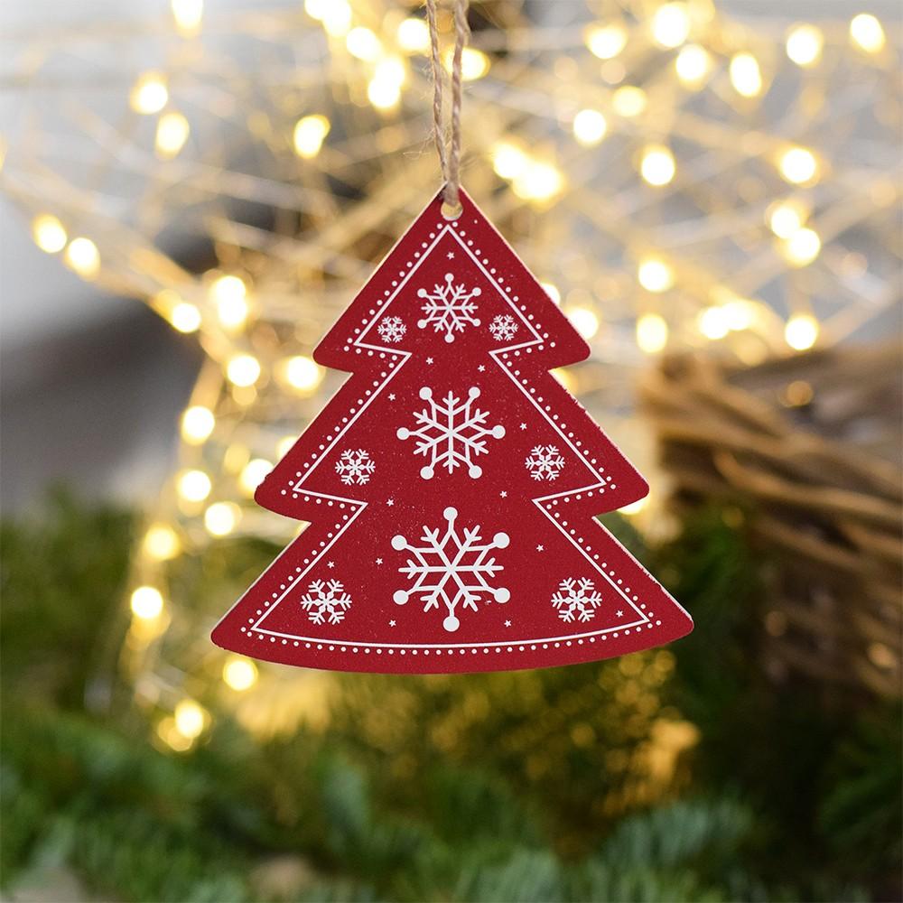 HOUSEDECOR Vánoční dekorace - Stromeček - červený