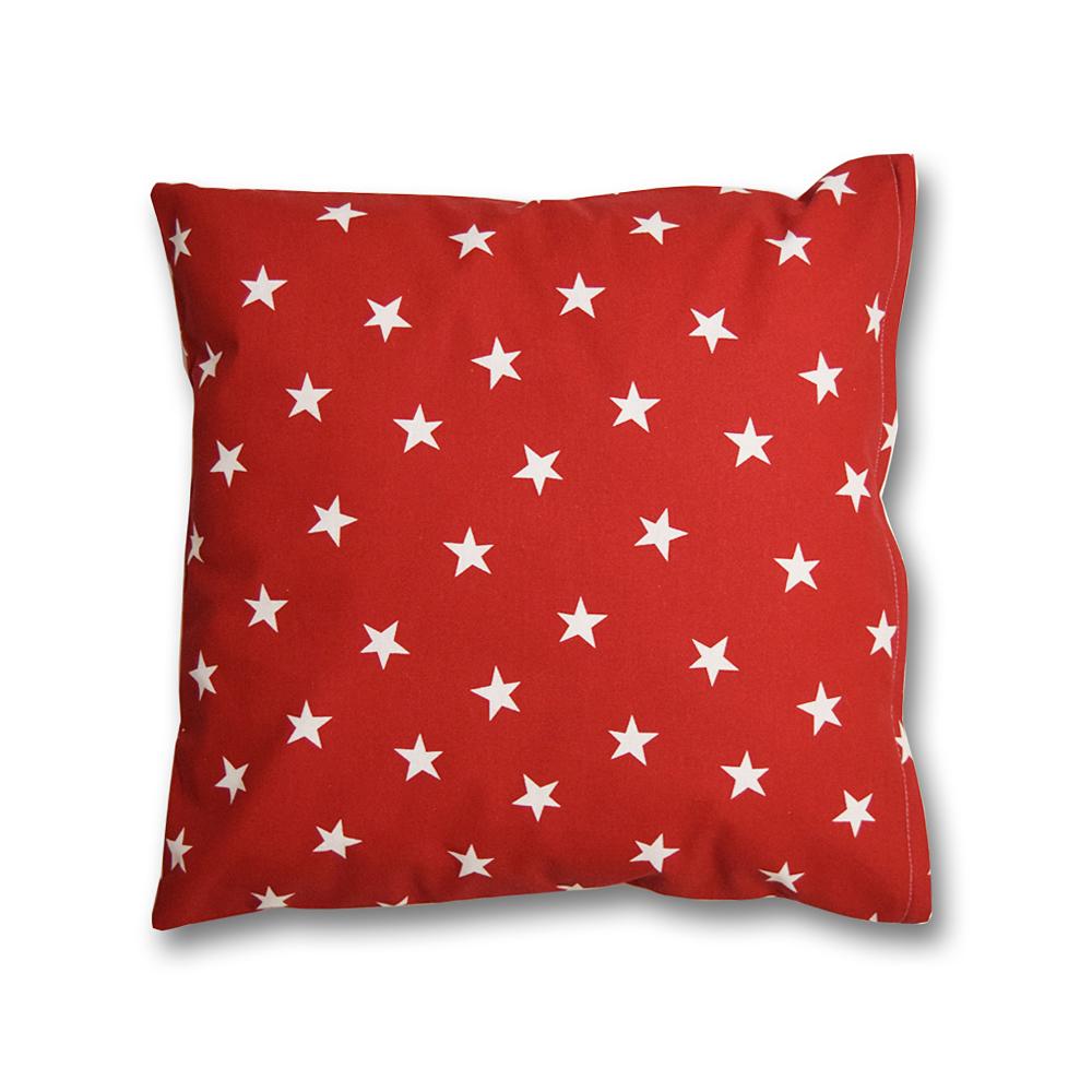 HOUSEDECOR Polštářek Hvězdy červená Edice Red&Grey