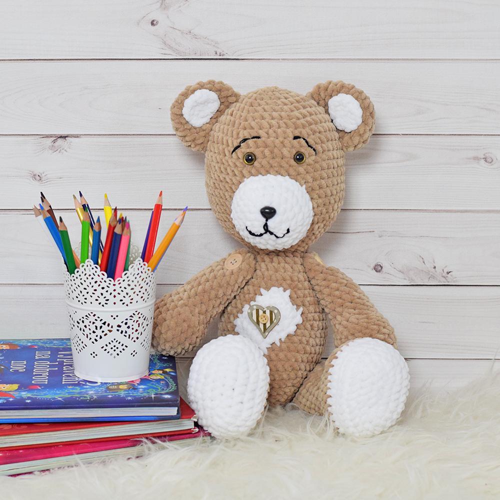 "Medvídek velký (béžová) ""Handmade"""