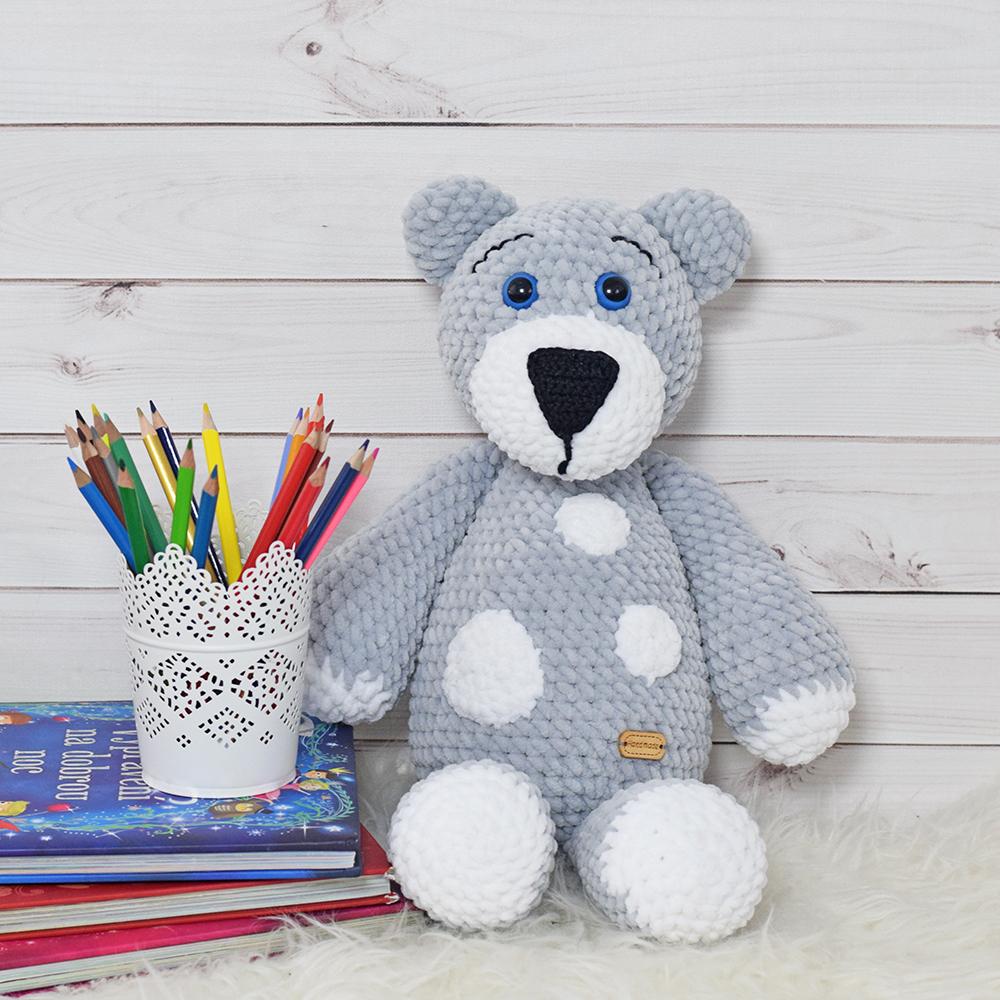 """Medvídek velký (šedá) """"Handmade"""""""