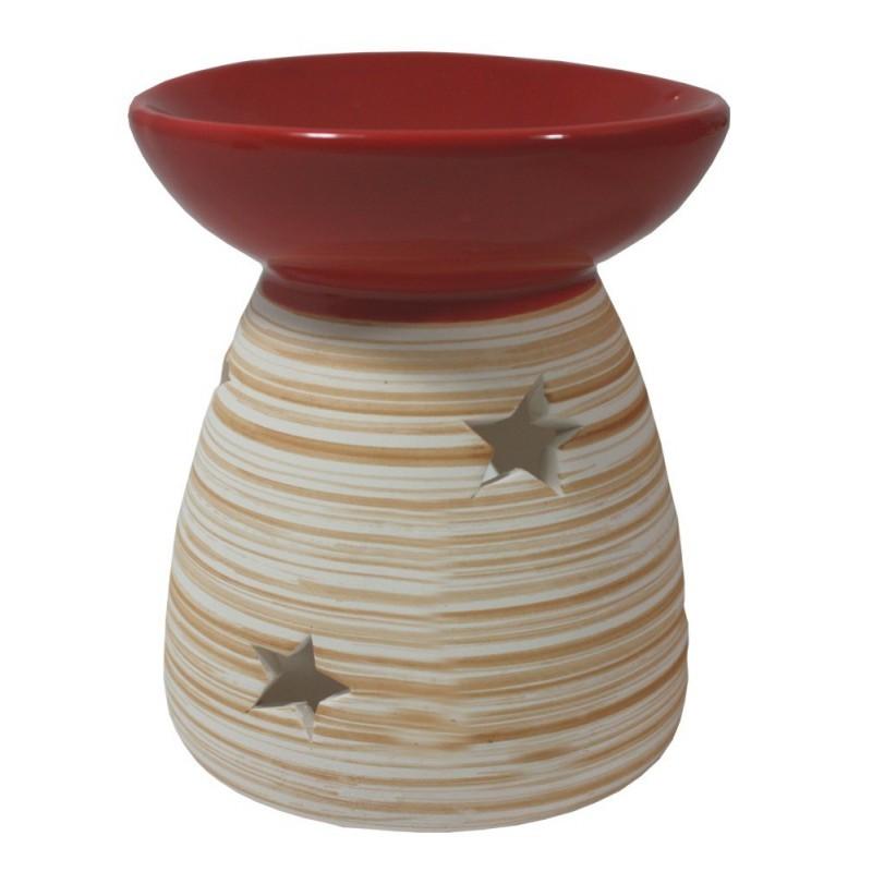 Aroma lampa motiv dřevo - hnědá