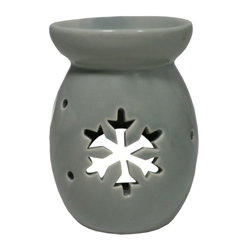 Aroma lampa vločka vysoká - šedá
