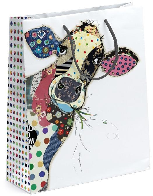 Bug Art - Dárková taška - malovaná kravička