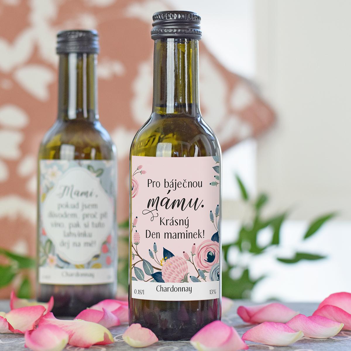HOUSEDECOR Dárkové víno pro báječnou mámu