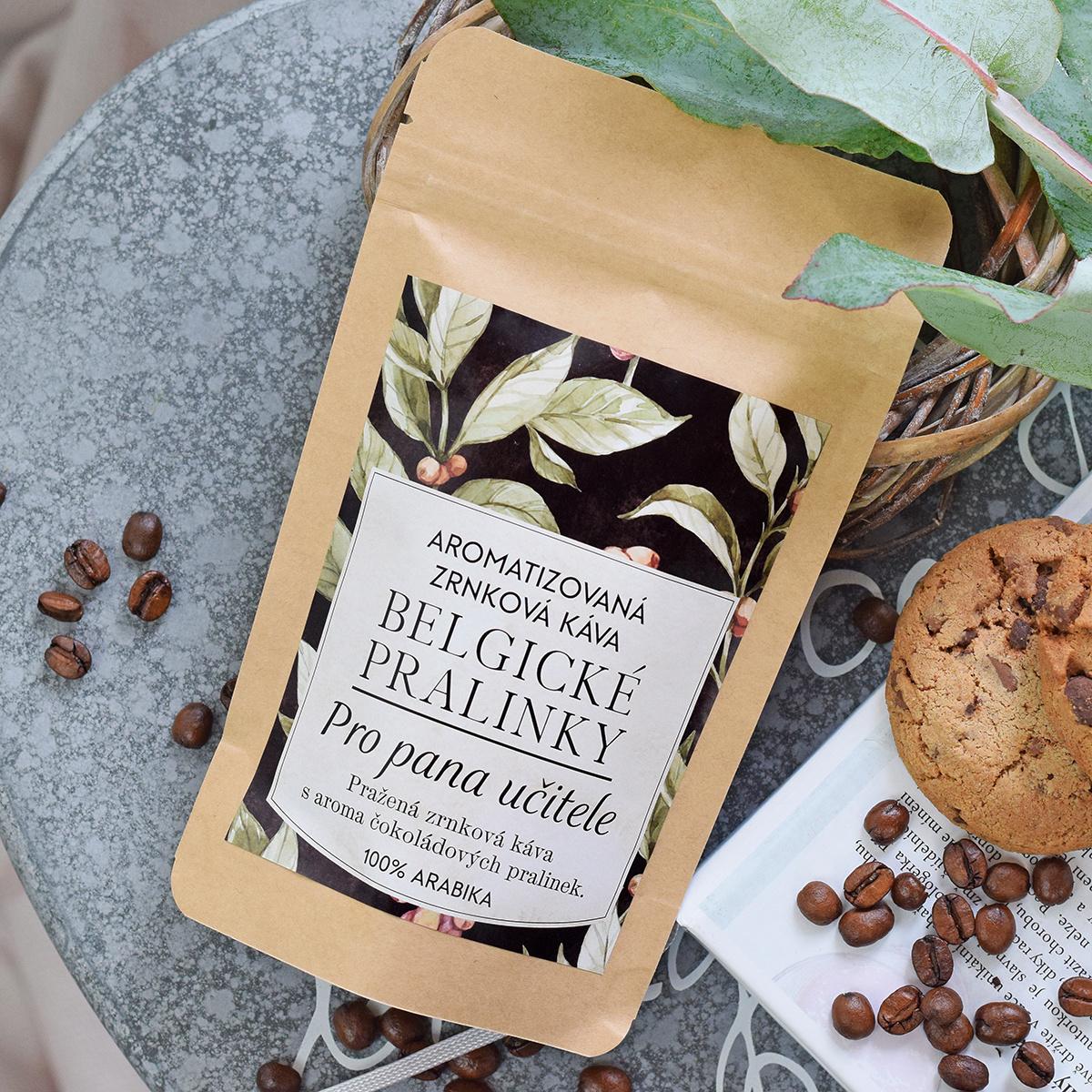 HOUSEDECOR Káva Belgické pralinky - pro pana učitele