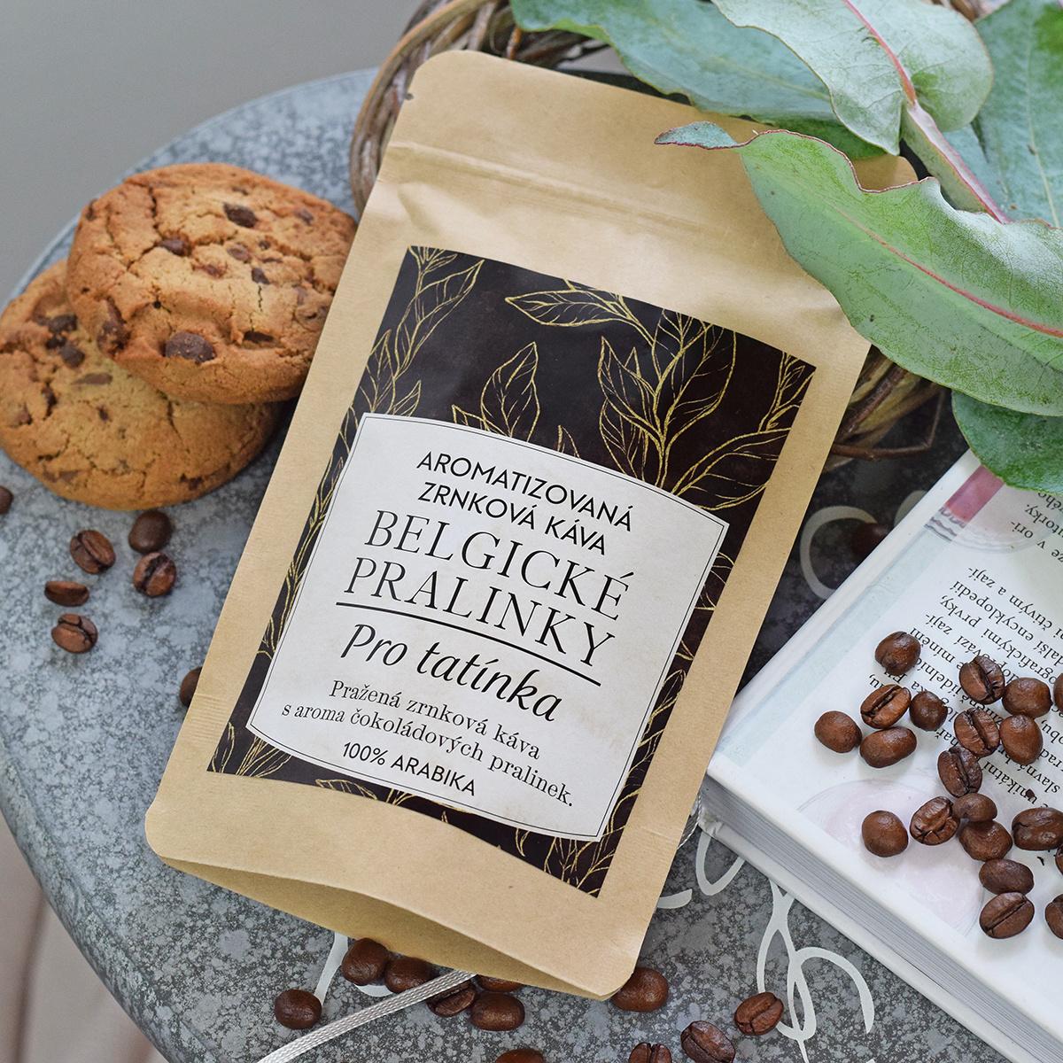 HOUSEDECOR Káva Belgické pralinky - pro tatínka