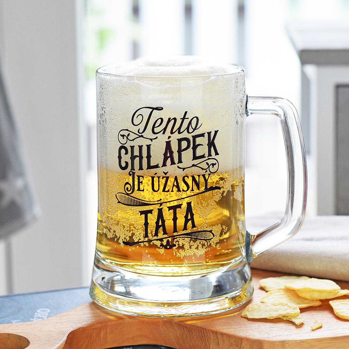 HOUSEDECOR Pivní džbánek pro tatínka