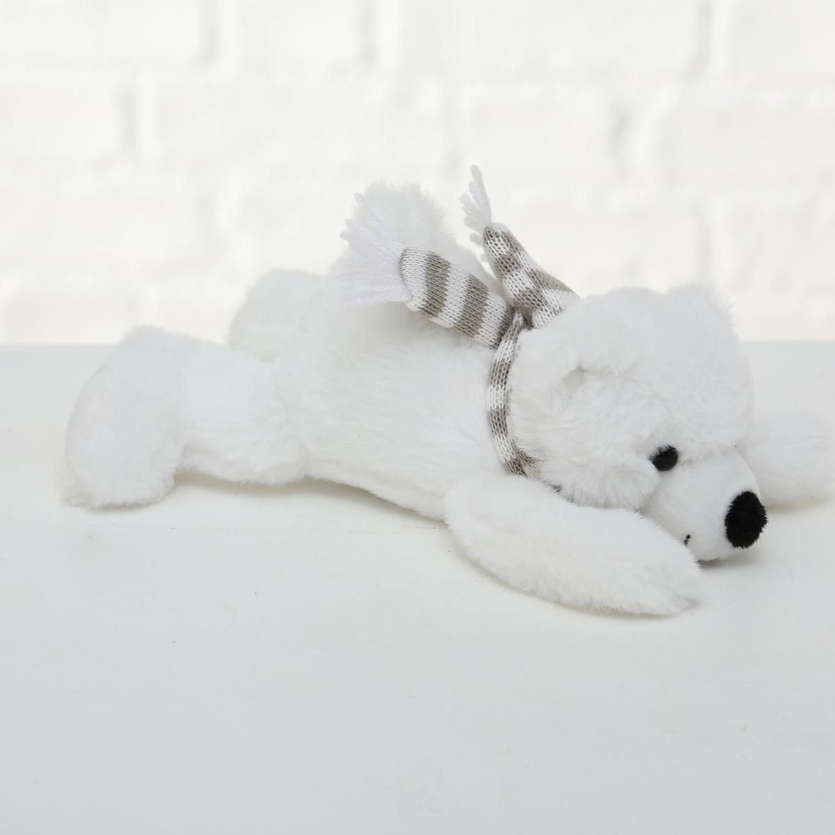 Plyšový zimní medvěd - střední