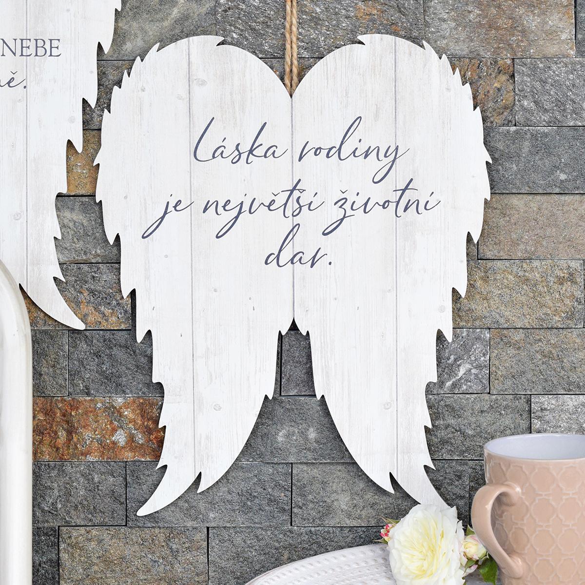 Křídla XXL - Láska rodiny je dar