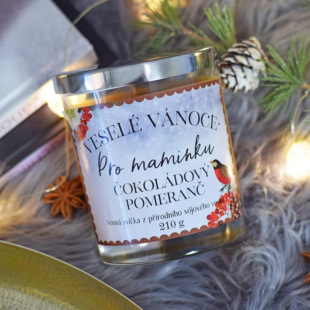 HOUSEDECOR Vánoční svíčka - pro maminku