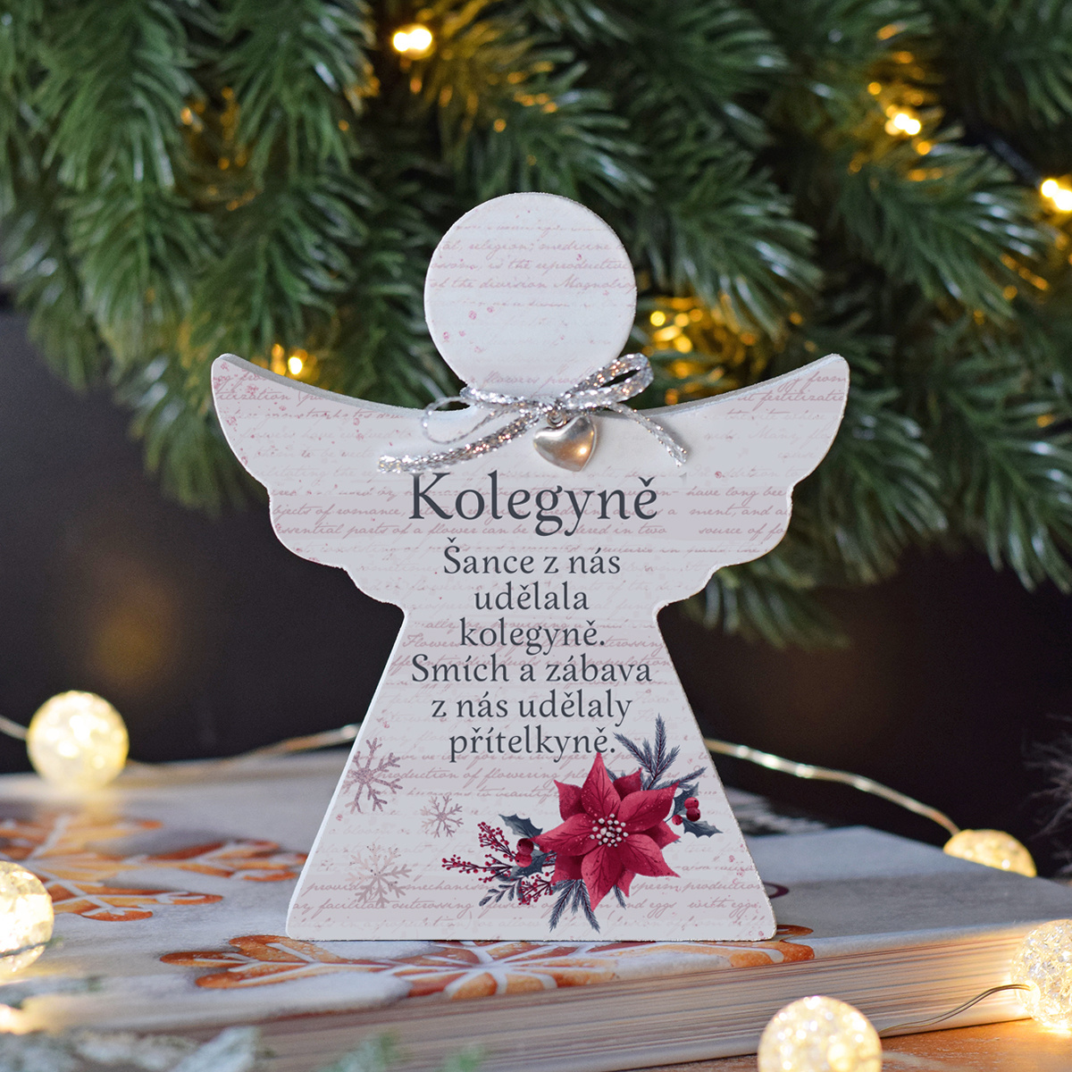 HOUSEDECOR Vánoční anděl - Kolegyně