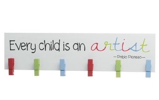 Cedulka pro děti s kolíčky