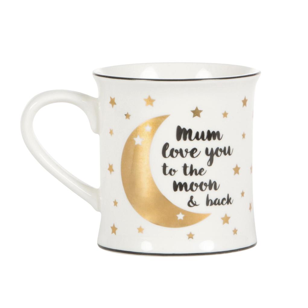 Hrnek - pro maminku - měsíc a hvězdičky