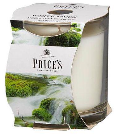 Svíčka - Prices - White Musk