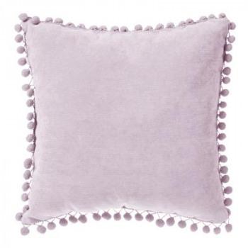 Polštářek - růžové pompony