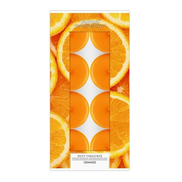 Set vonných čajových svíček - Pomeranč