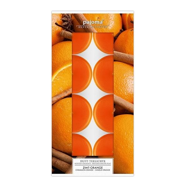 Set vonných čajových svíček - Skořice, pomeranč