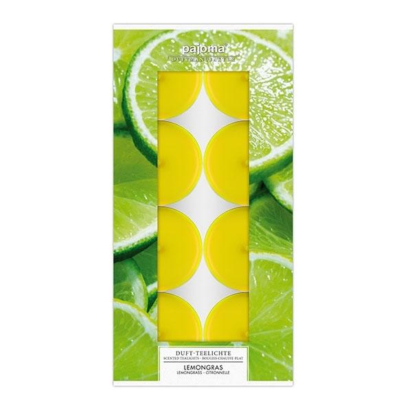 Set vonných čajových svíček - Citronová tráva