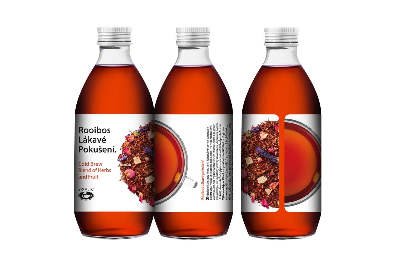 Rooibos Lákavé pokušení - Cold Brew Blend of Herbs and Fruit 330 ml