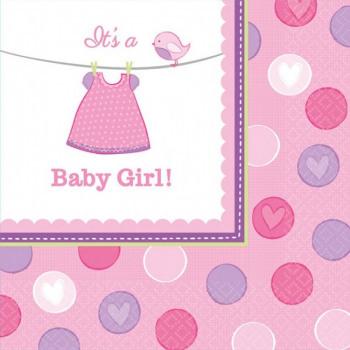 Ubrousky - Baby girl