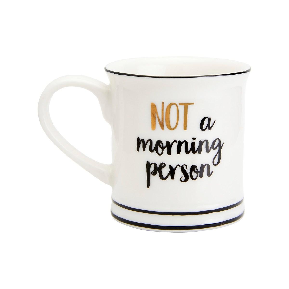 Hrnek - NOT A MORNING PERSON