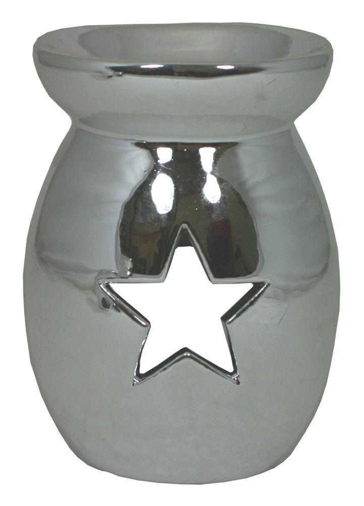 Aroma lampa - Hvězda / stříbrná