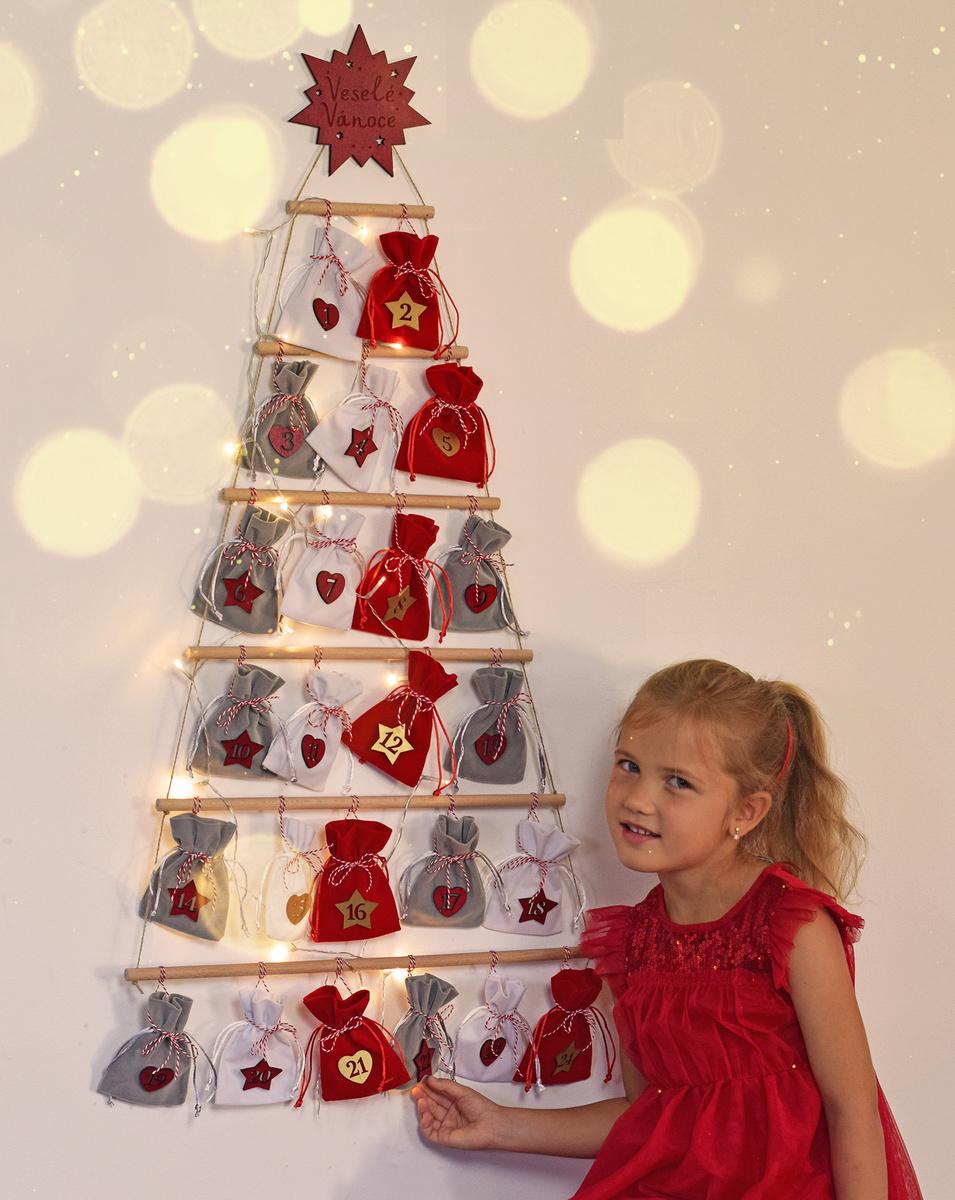 HOUSEDECOR Stromečkový adventní kalendář
