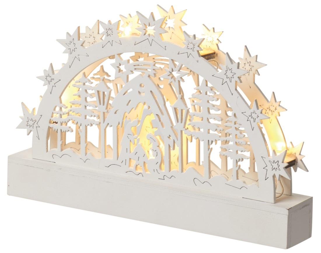 LED dekorace - Velký betlém