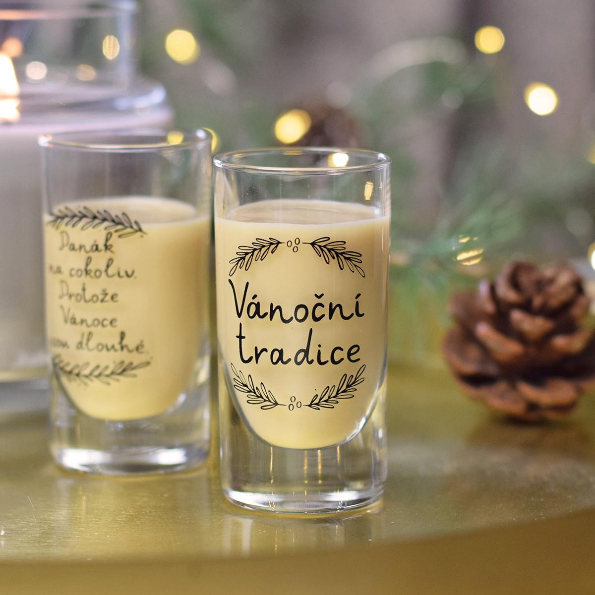 HOUSEDECOR Panáková sklenice - Vánoční tradice