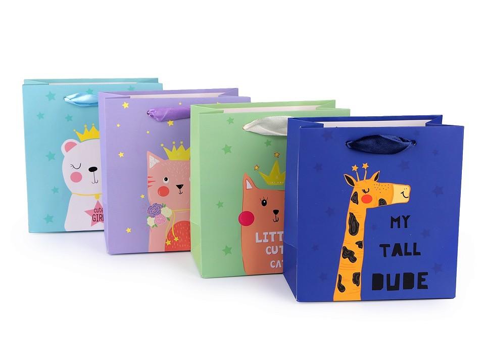 Dárková taška - Dětská - 4 motivy fialová