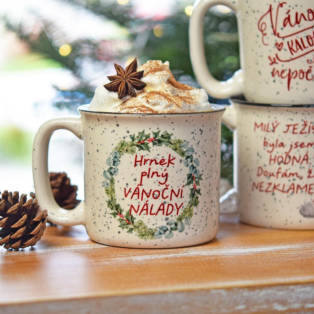 HOUSEDECOR Vánoční hrnek - Vánoční nálada