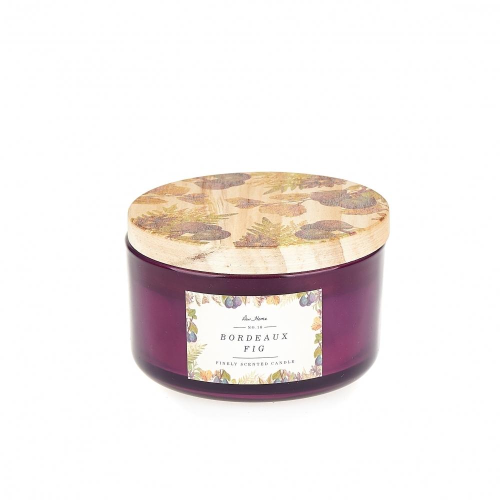 DW Home Vonná svíčka ve skle Bordeaux Fig 12,9oz