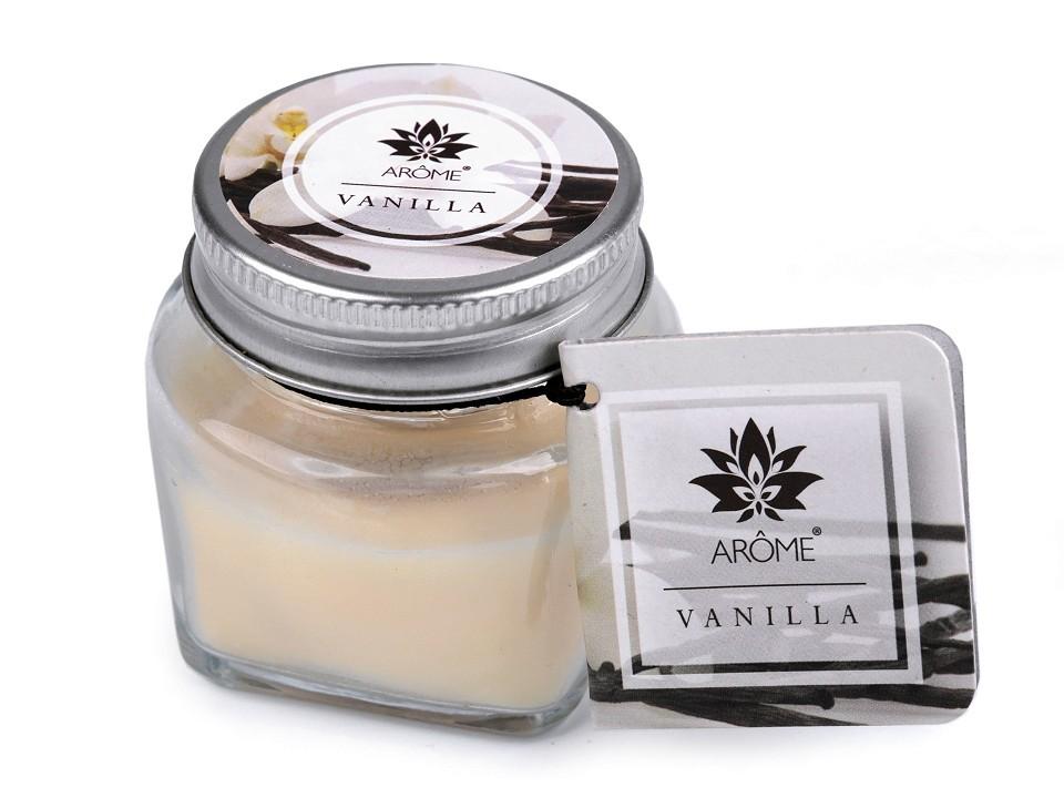 Vonná svíčka ve skle - Vanilka