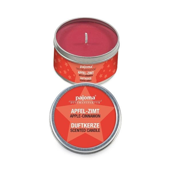 Vonná svíčka v plechovce - jablko/skořice