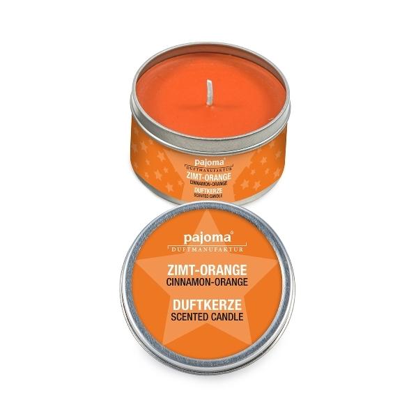 Vonná svíčka v plechovce - pomeranč