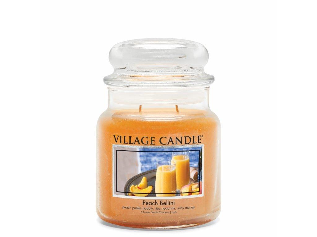 VILLAGE CANDLE - Broskvové Bellini