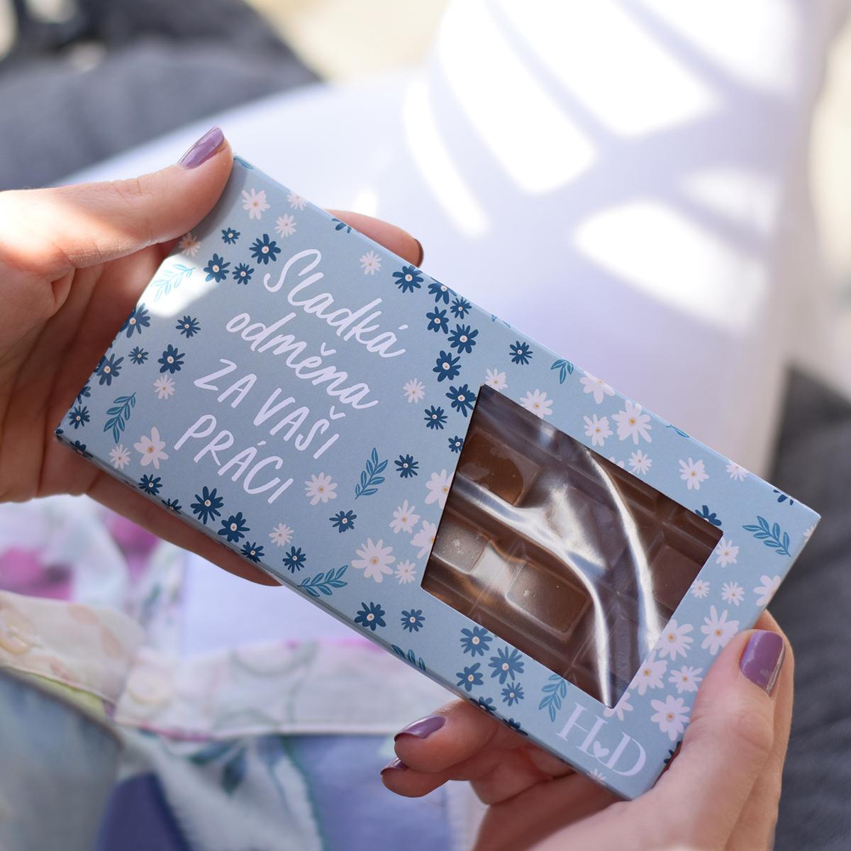 HOUSEDECOR Mléčná čokoláda - Sladká odměna za Vaši práci.