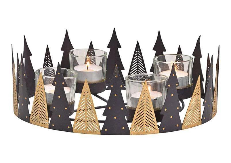 Adventní věnec- vánoční stromeček