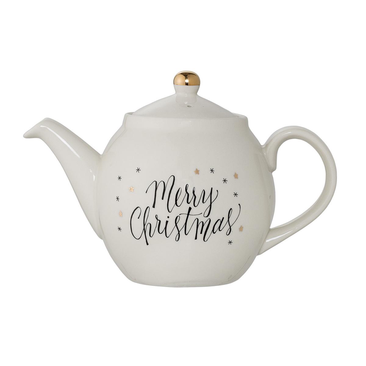 Vánoční čajová konvice Noel- Merry  Christmas