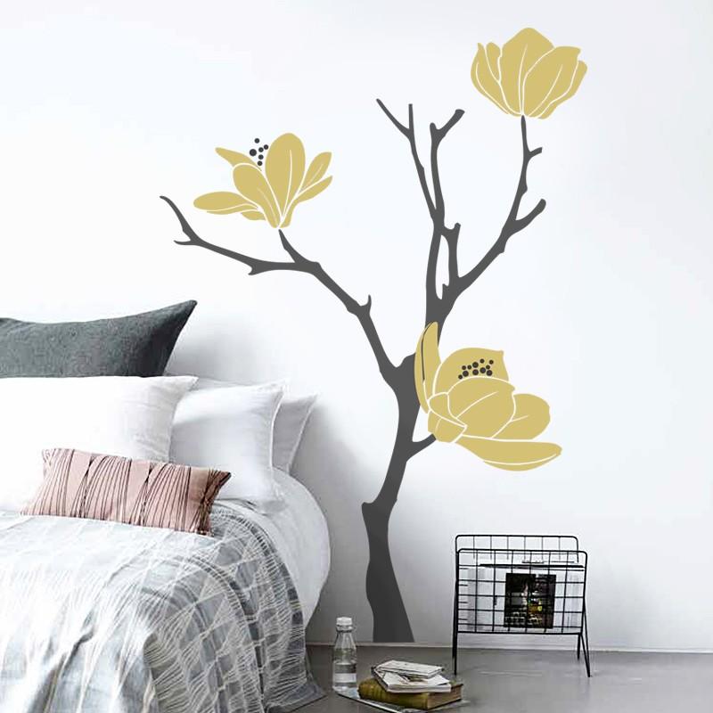 HOUSEDECOR Magnolia šedo-zlatá