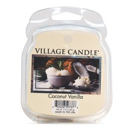 Village Candle Vosk, Coconut Vanilla 62g